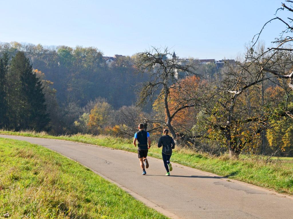 Trainieren mit individuellem Trainingsplan, für Läufer und Triathleten