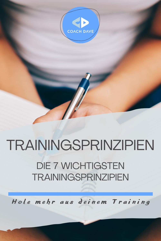 Trainingsprinzipien